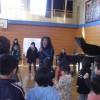 清志郎さんの母校でサンバWS